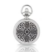 Celtic Knot Womens Pocket Watch